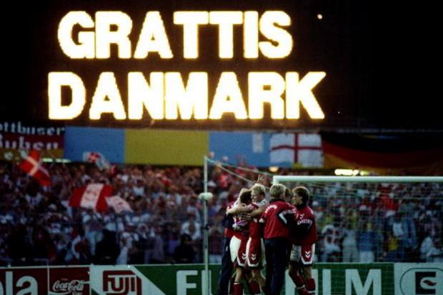 Dinamarca repescada