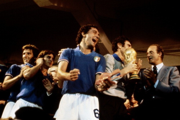 Itália x RFA: Uma tarde italiana