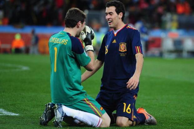 Holanda x Espanha: A Espanha faz-se grande