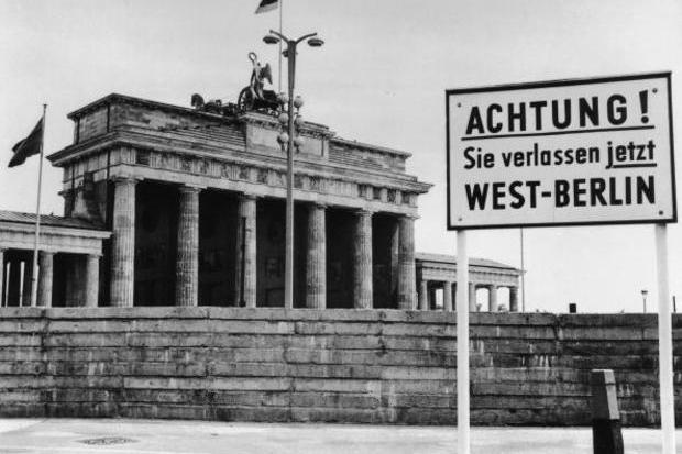 O Muro de Berlim e as duas Alemanhas