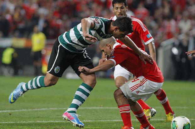 Benfica x Sporting: Limpinho, limpinho...