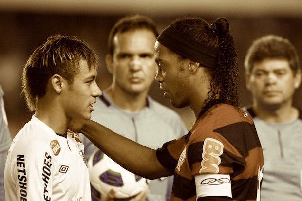 Santos 4 x 5 Flamengo: a bruxaria de Ronaldinho venceu a magia de Neymar