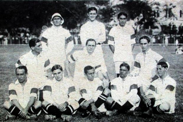 O nascimento da seleção brasileira