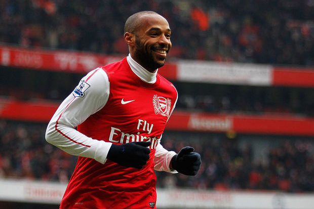 Thierry Henry: ídolo do Arsenal e carrasco brasileiro