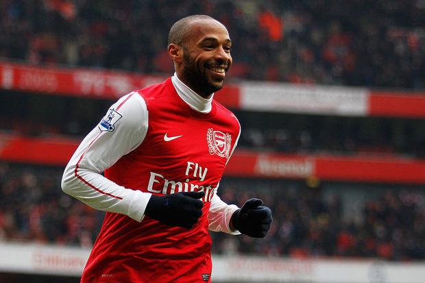 Thierry Henry: ídolo do Arsenal e carrasco brasileiro