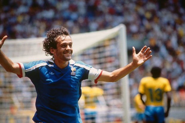 Michel Platini, o camisa 10 'Simplesmente Mágico'