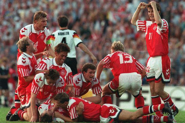 Euro 92: As épicas férias da Dinamarca
