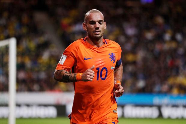 Wesley Sneijder: O Sniper Holandês