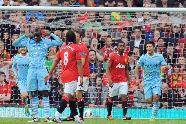 Man. United x Man. City: A tarde onde Manchester foi azul como nunca