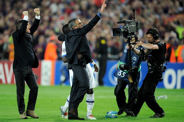 Barcelona x Inter: E lá subiu o Airbus de Mourinho