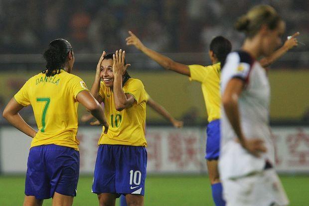 Brasil 4 x 0 EUA: Não há palavras para descrever!