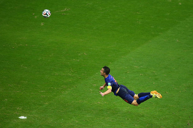 Robin van Persie: The Flying Dutchman