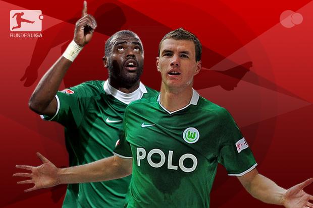 Dzeko e Grafite: A maior dupla de ataque da história da Bundesliga