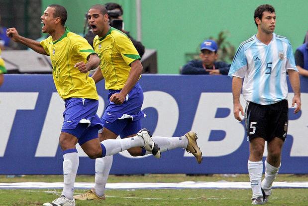 Argentina 2 x 2 Brasil: sufoco, mas campeões!