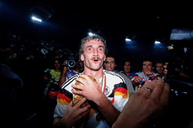 Rudi Voller: O Homem dos Títulos Dourados