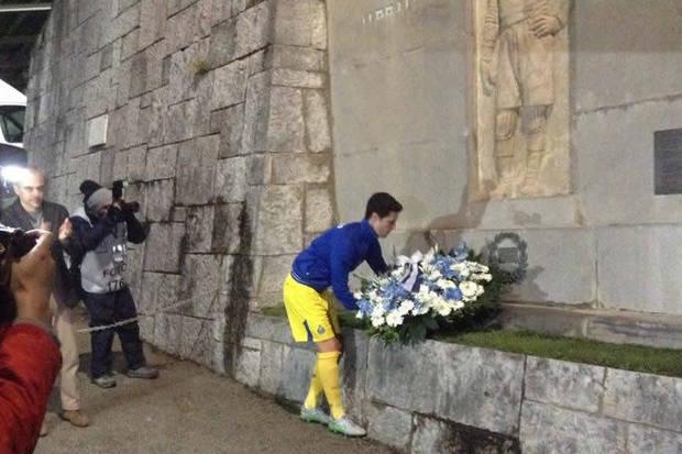 Homenagem a Pepe: a história da tradicional coroa de flores oferecida pelo FC Porto