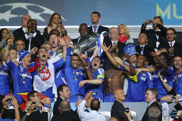 Champions 11/12: Que balde de gelo italiano