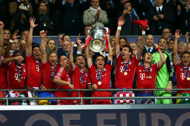 Champions 12/13: A redenção bávara
