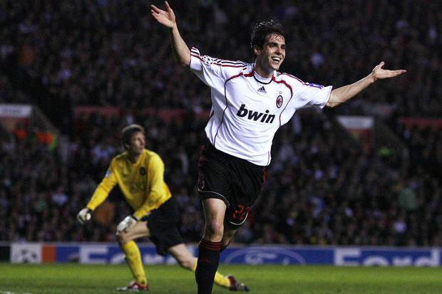 Manchester United x Milan: Poucos se lembram do resultado, todos se lembram de Kaká