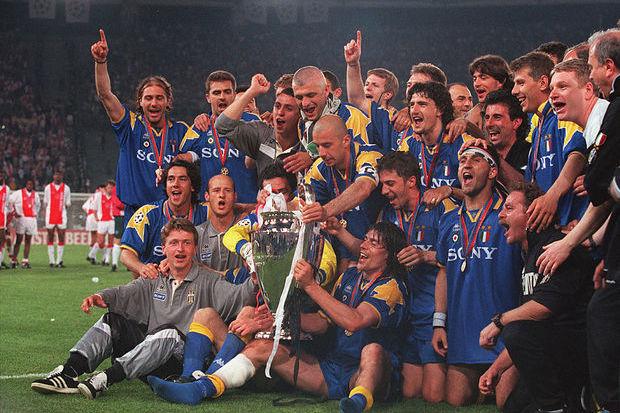 Champions 95/96: Em Roma, sê Juventino