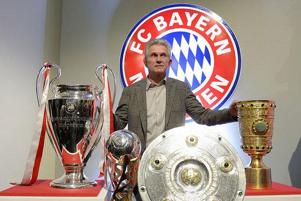 Heynckes, lenda do M'Gladbach e comandante do melhor Bayern da história