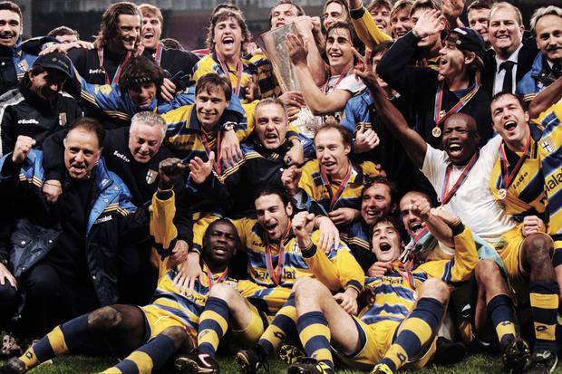 Taça UEFA 98/99: O grande Parma