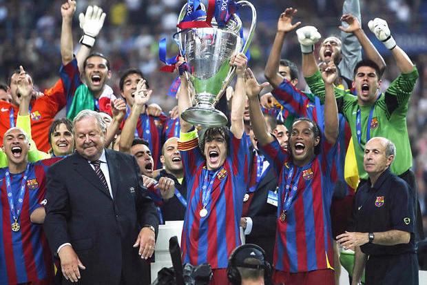 Champions 05/06: Barcelona Joga Bonito