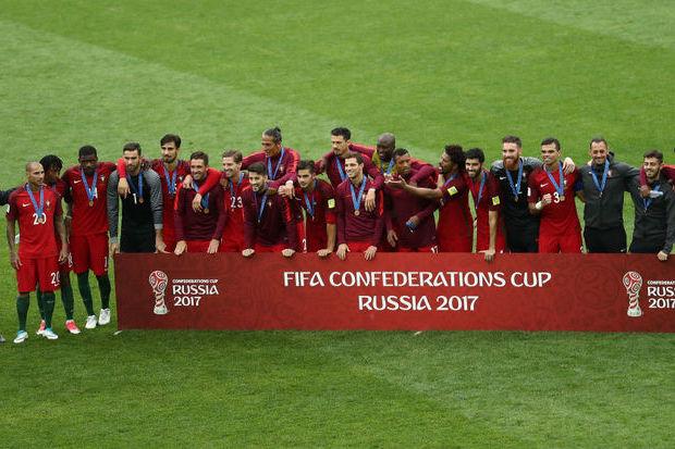 Portugal nas Confederações: na Rússia para o bronze