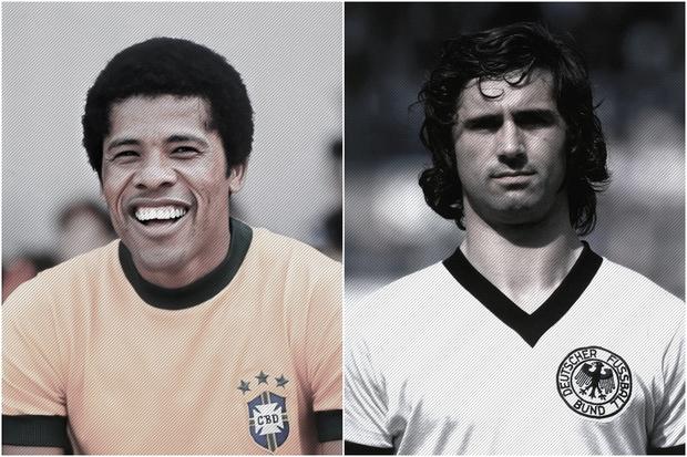 Dadá Maravilha e Gerd Müller: a filosofia do gol