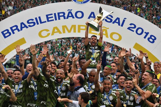 2018: Com segundo turno invicto, Palmeiras de Felipão conquista o Brasileiro