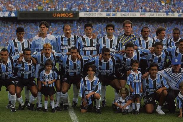 1996: Um ano depois de conquistar a América, Grêmio chega ao topo do Brasil
