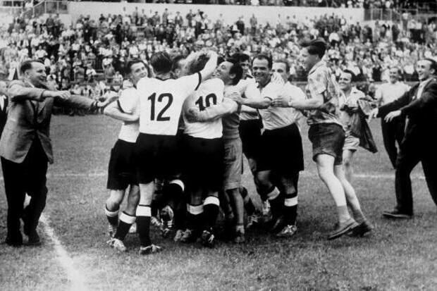 Copa do Mundo 1954: a arte do leste e o milagre alemão