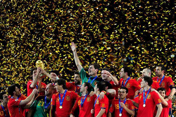 Copa do Mundo 2010: La Furia chega ao topo
