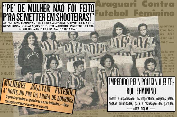 O decreto que proibiu as mulheres de jogar futebol no Brasil