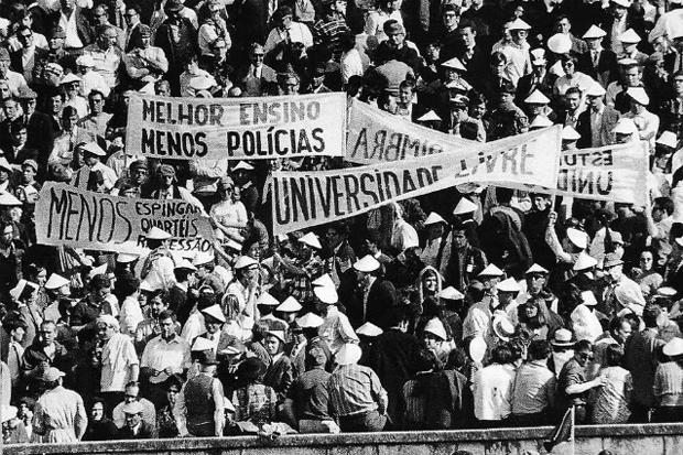 A Crise Estudantil de 1969 e a final da Taça