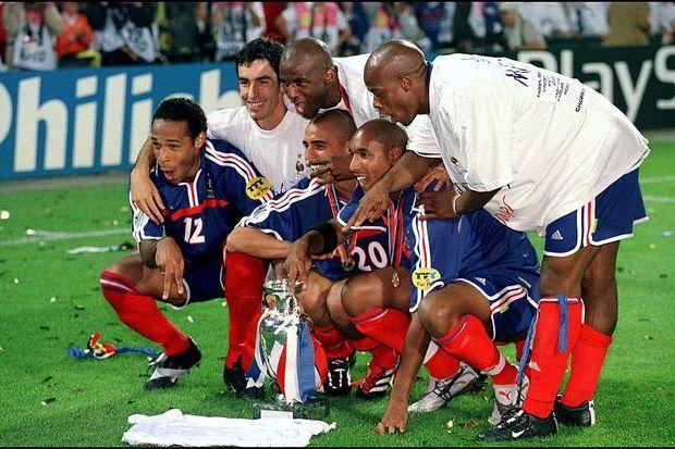 Euro 2000: A França Champanhe