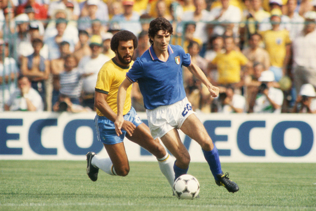 Itália x Brasil: o milagre de «San Paolo Rossi»