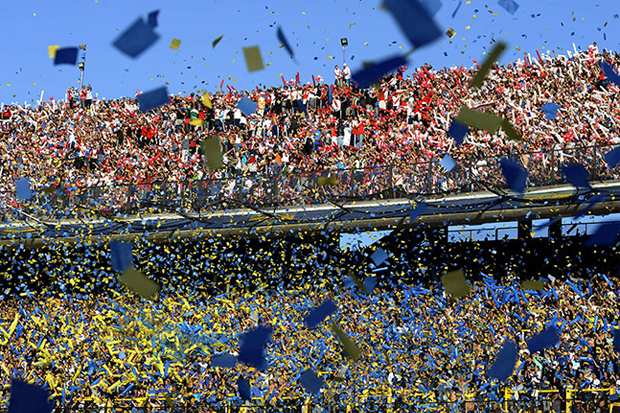 «El Superclásico»: Boca Juniors x River Plate