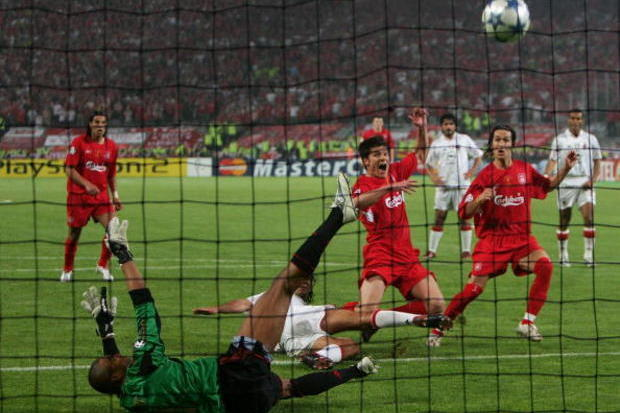 Milan x Liverpool: O milagre de Istambul