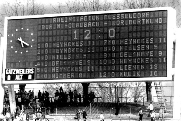 M'Gladbach x Dortmund: humilhação em Düsseldorf