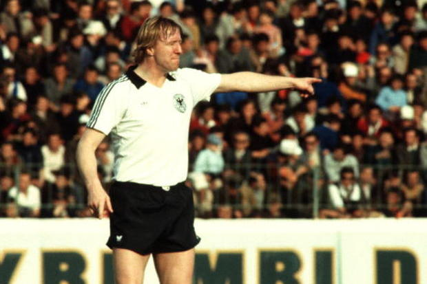 Horst Hrubesch: a cabeça da besta