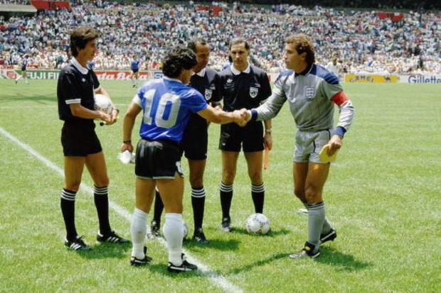 Argentina x Inglaterra: A mão de Deus